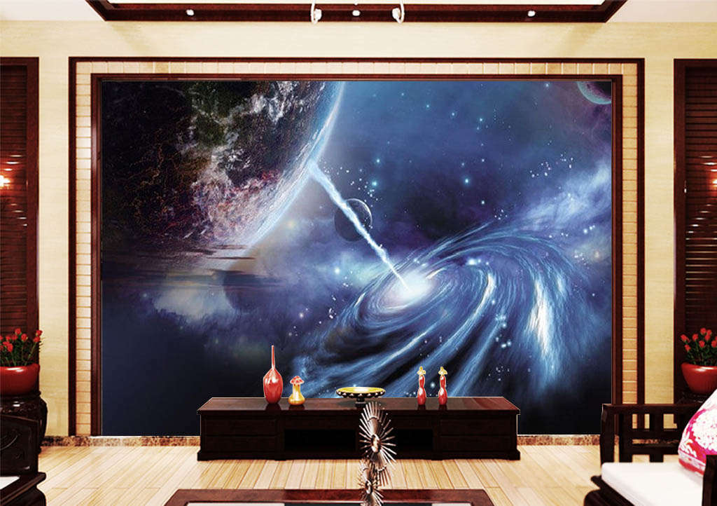 The Dream Milky Way 3D Full Wall Mural Photo Wallpaper Printing Home Kids Decor