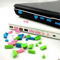 26x Protective USB Date Ports Cover Anti-Dust Plug Stopper for Laptop Notebook