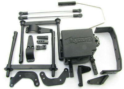 Chrome//Mad Crusher KYOMAB073-01SM Kyosho Body Plastic Parts Set