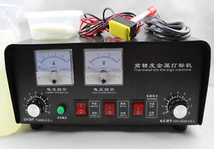 Electrochemical Etching Machine Electro Corrosion Various
