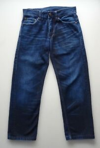 Droite Coton 28 Jambe Leg Taille J65 Armani Jeans Relaxed Jeans Exchange Court qPzwYB