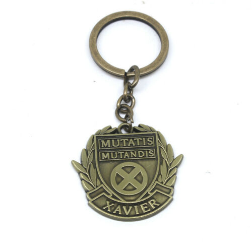 Dark Phoenix Logo Metal Keychain Pendant Necklace Cosplay Prop Gift 2019 X-Men