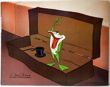 Looney Tunes FROG SINGING IN A BOX Print Michigan J. Frog