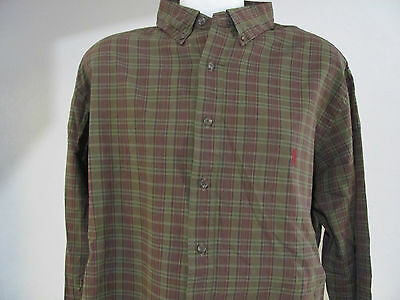 "NEW Mens 2XLB 2XB Ralph Lauren POLO ""Classic Fit"" GREEN Multi w MAROON Pony $95"