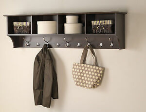 Good Image Is Loading Entrance Cubby Long Mounted Wall Shelf Storage Foyer  Amazing Pictures