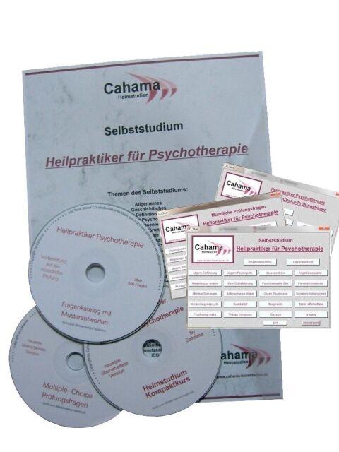 HEILPRAKTIKER PSYCHOTHERAPIE Selbststudium & 2x Prüfungsfragen