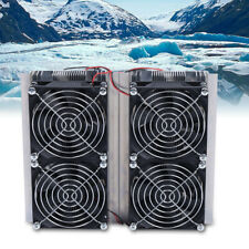 Refrigeration Plate Cooler Semiconductor Peltier Cold Cooling Fan Summer 240w