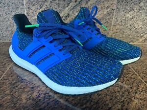 30a5a4f9e66 SOLD OUT Adidas Ultra Boost CM8112 HI RES BLUE-White-Green Men Size ...