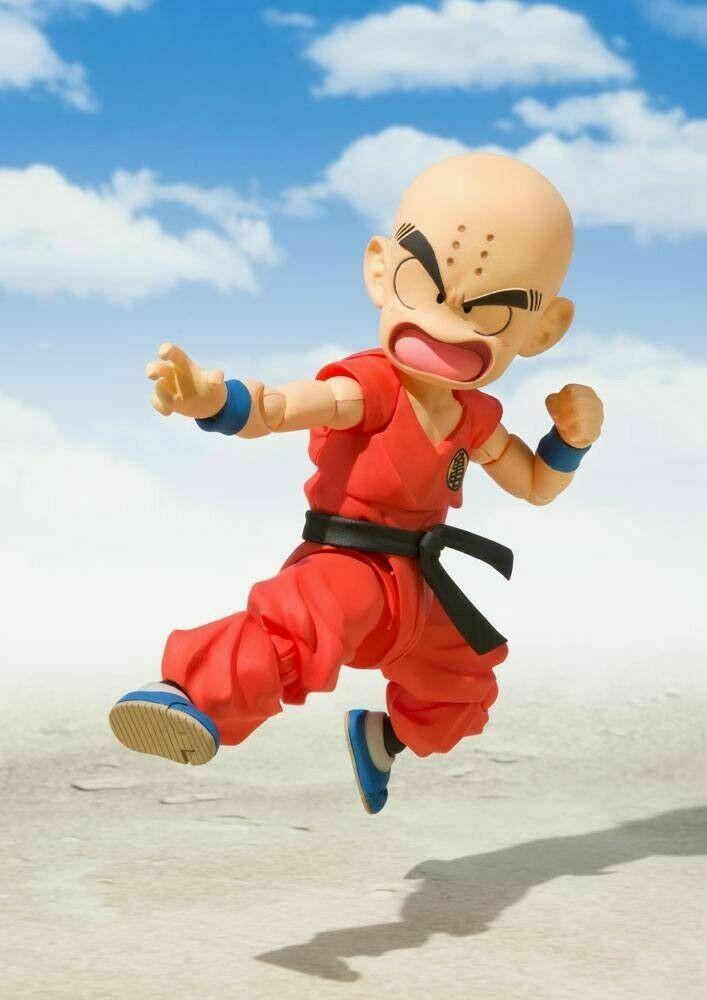 Dragonball S.H.Figuarts Action Figure Krillin the Early Years 10 Cm