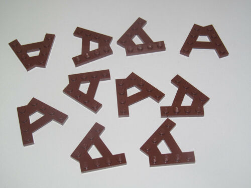 Lego ® Lot x10 Plaques 1x4 2 Tenon Lateraux Plate 2 Pins Choose Color ref 15706