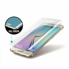 For Samsung Galaxy S6 Edge FULL SCREEN COVER TPU TEMPERED Screen Protector Film