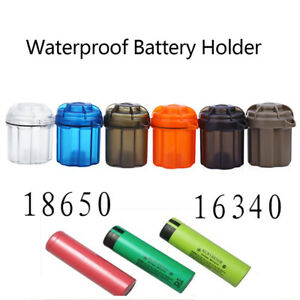 Outdoor-Gear-Survival-Capsule-Waterproof-Storage-Container-Battery-Holder-xn