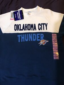 timeless design 0056f 35435 Details about Oklahoma City Thunder Sweater Sz:Small