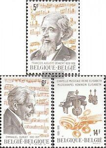 Belgien-2003-2005-kompl-Ausg-postfrisch-1979-Musik
