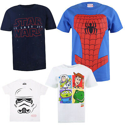 OFFICIAL STOCK Star Wars Boys Short Sleeve T-Shirt Ages 5-6 YRS 7-8 YRS