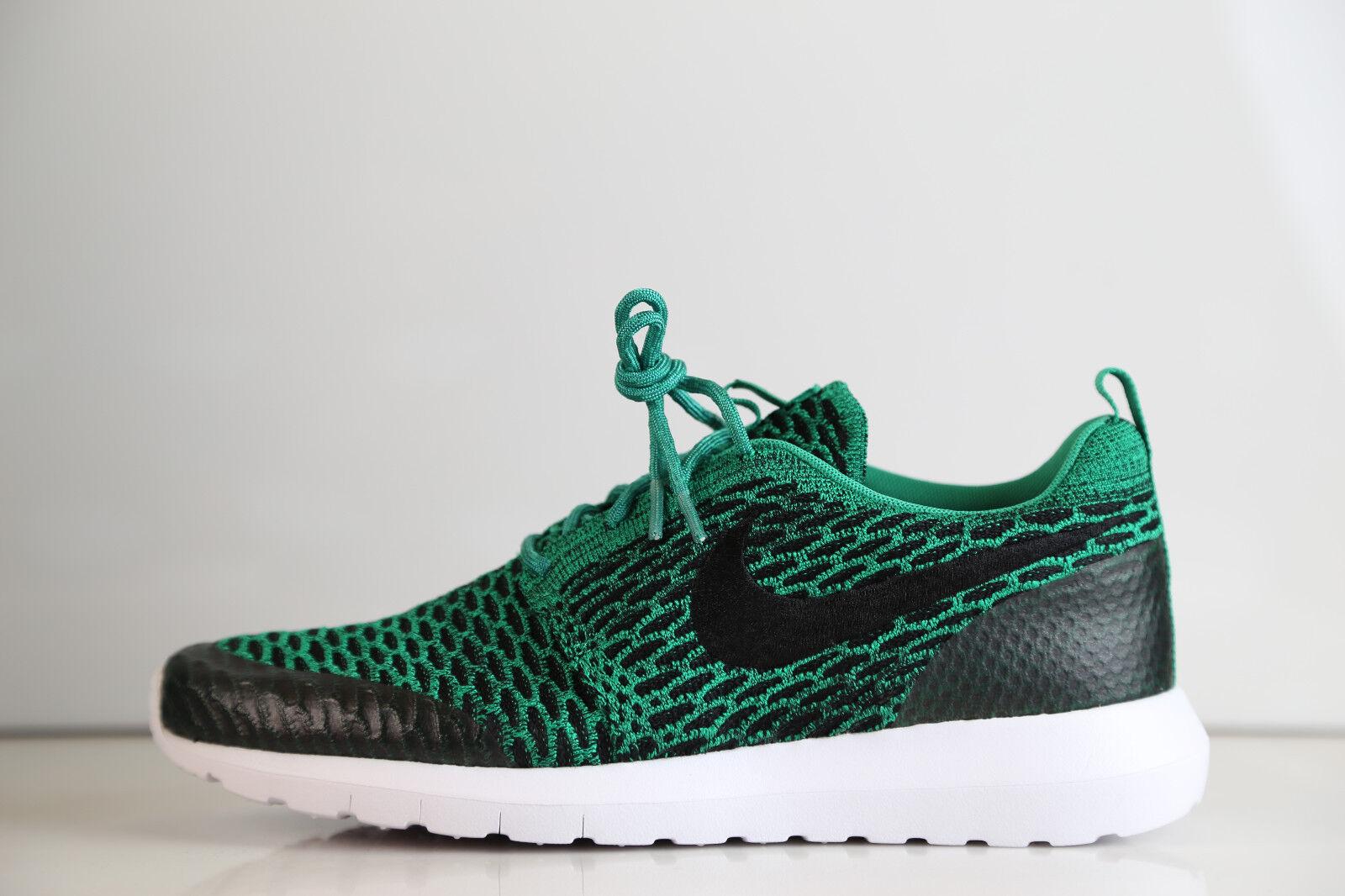 Nike Roshe Run NM Flyknit SE Lucid Green 816531-300 8-12 free 1 supreme