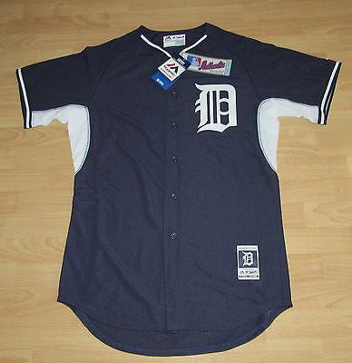 Ovp 2019 New Fashion Style Online GemäßIgt Authentisch Detroit Tigers B.p.marineblau Baseballtrikot Herren Size 44 Fanartikel