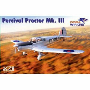 Dora-Wings-72014-Percival-Proctor-Mk-III-1-72-Plastic-Model-Kit