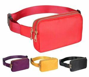 Waterproof Waist Pack Belt Bag Fanny Shoulder Chest Crossbody Phone Pouch Case