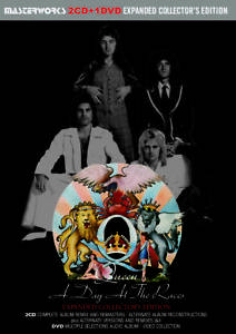 QUEEN-A-DAY-AT-THE-RACES-EXPANDED-COLLECTOR-039-S-EDITION-Press-2CD-1DVD-F-S