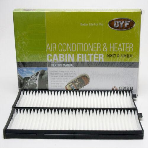 Cabin filter  68120-08130 SSANG YONG Rexton Manual transmission