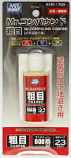 Mr Hobby Compound Rough Coarse 25cc R191 w/ Cloth 600 Grit Tool Liquid Sandpaper