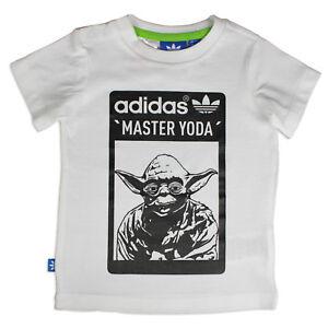 Wars Star T Adidas Shirt Master Originals Meister Kinder Yoda Jedi EOqwpP
