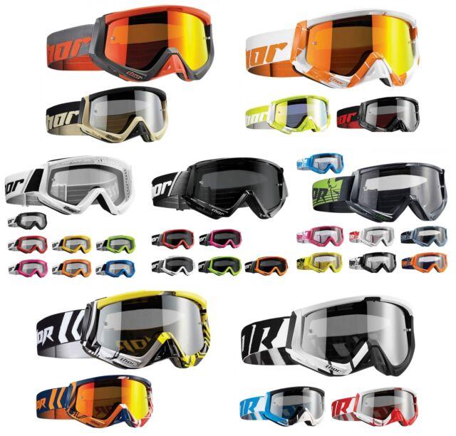 Conquer Sniper Thor Crossbrille MX Enduro Quad Motocross Brille Combat