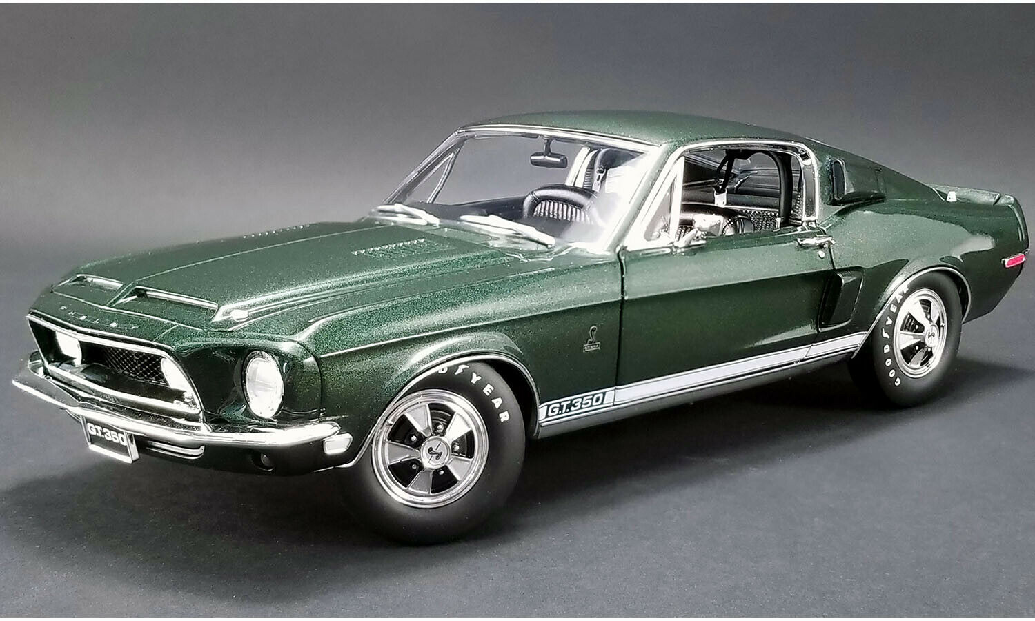 ACME 1968 Ford Mustang Shelby GT350 Hertz verde 1 18 Scale Replica A1801825