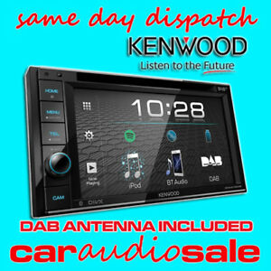 Details zu KENWOOD DDX-4019DAB 6 2' BLUETOOTH USB APPLE ANDROID CAR VAN  STEREO + DAB AERIAL