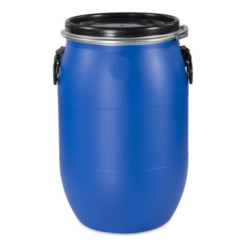 60 L Kunststofffass Deckelfass Futtertonne Gepäcktonne NEU