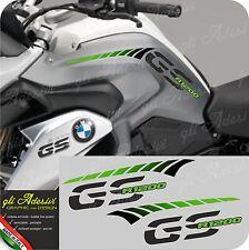 Kit Adesivi Fianco Serbatoio Moto BMW R 1200 gs LC stripes racing GREEN