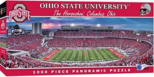 1000-Piece Ohio State Buckeyes Football Stadium Jigsaw Puzzle Best for Framing