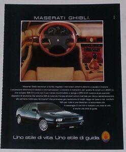 Advert-Pubblicita-1994-MASERATI-GHIBLI