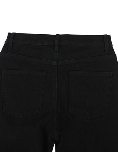 Damen Skinni Röhrenjeans Hüftjeans W26,28,30,32,34,36 Länge 32+34 schwarz SF600