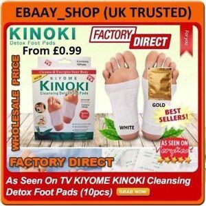 ✅Genuine KINOKI Detox Foot & Body Pad Remove Toxins Herbal Slim Body Weight Loss