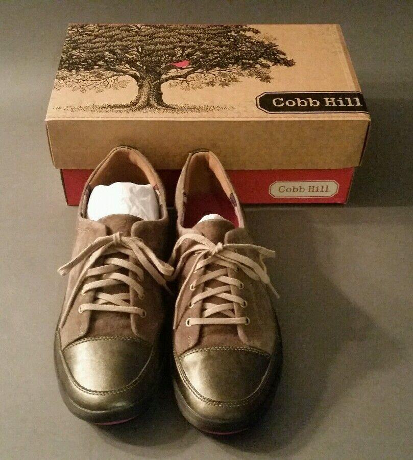 Cobb hill womens flat fashions sneakers. Taupe 10 medium