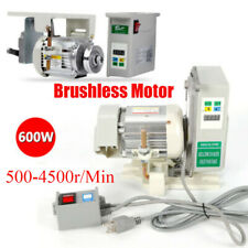 600w Brushless Servo Motor Mute For Industrial Sewing Machine Fast Shiping New