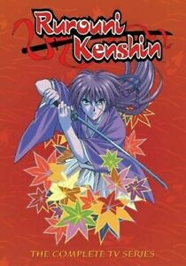USED-Rurouni-Kenshin-The-Complete-Series-Seasons-1-2-3-DVD-2010-22-Disc-Set