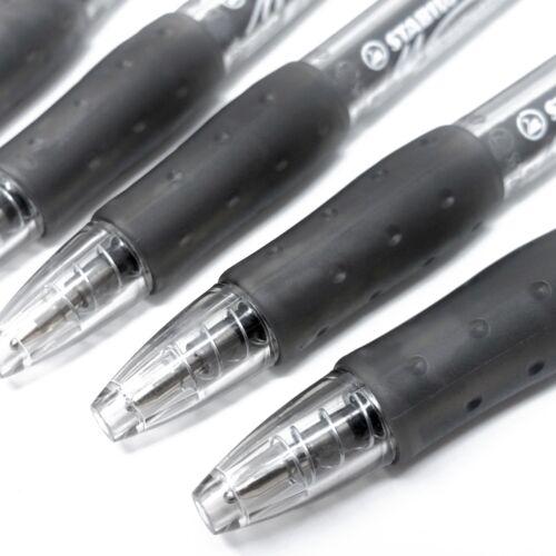 Extra Large Ink Reservoir Black x 6 Stabilo Marathon Retractable Ballpoint