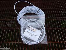 4mm Mig Welder Wire Liner 2 4 Mts White Plasticsteel Sipsealeyclarke E16