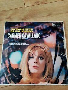 CARMEN-CAVALLARO-MAGIC-MUSIC-OF-HOLLYWOOD-ORIG-LP-1965-BRUNSWICK-EXC