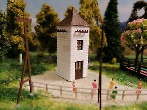 Trafohaus Fertigmodell | Umspannstation | Trafohäuschen Kalksandstein  | Spur Z