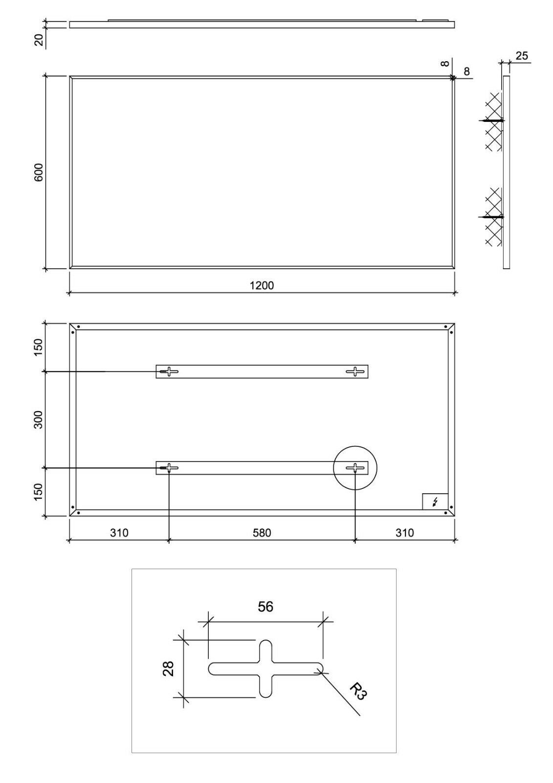 Ximax Infrarotheizung Infrarotheizung Infrarotheizung Aluminum Paneel (mit Rahmen) 60 x 120 x 2,5 cm weiss 800W a868bc