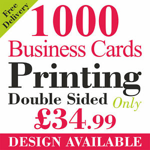 1000 full colour business cards printed on 350gsm card ebay image is loading 1000 full colour business cards printed on 350gsm colourmoves