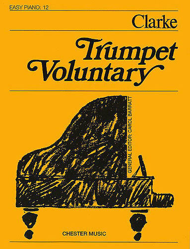 Trumpet Voluntary Easy Piano No.12 Learn to Play Beginner Music Book