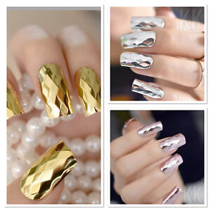 24Pcs-Glitter-Design-False-Nails-Full-Cover-Nail-Art-Tips-Fake-Nails-uk-seller