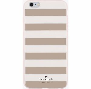 size 40 7d4d5 93a8c Details about Kate Spade Flexible Hardshell Case for iPhone 6 Plus iPhone  6S Plus Rose Gold