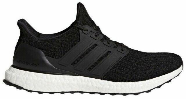 NEW! [BB6166] Mens ADIDAS UltraBoost Ultra Boost 4.0 Running Black White Size 8