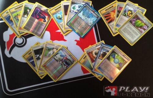 Pokemon Cards ~ 20 Card Trainer Lot ~ RARE//HOLO//UNCOMMON ~ FREE Shipping /& FAST!